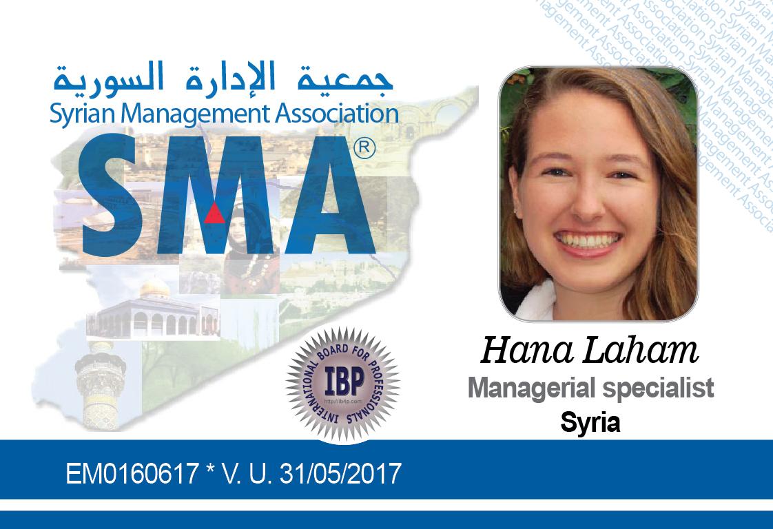 Hana Laham Syrian Management Association