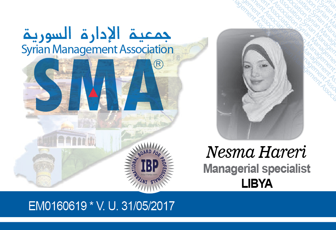 Nesma Hareri Syrian Management Association