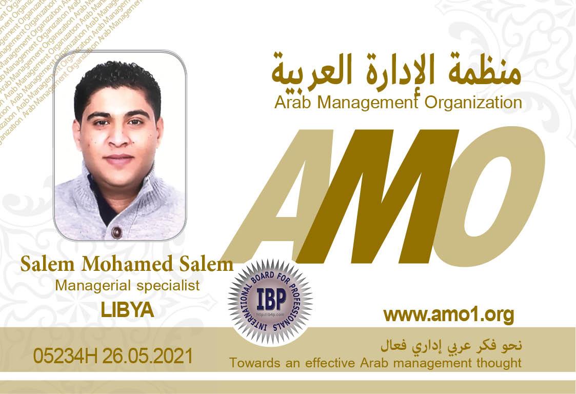 Salem Mohamed Salem AMO